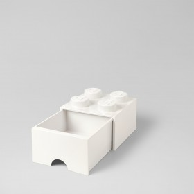 LEGO Brick Drawer (4) White