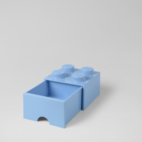 LEGO Brick Drawer (4) Blue