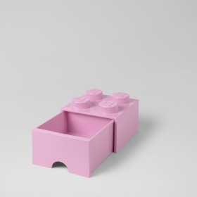 LEGO Storage Brick (4) Yellow