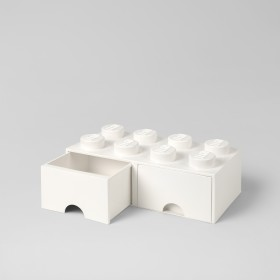 LEGO Brick Drawer (8) White
