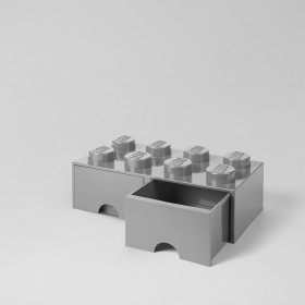 LEGO Brick Drawer (8) Grey