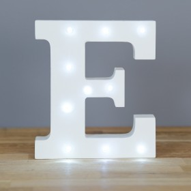 Letter E LED Up In Lights