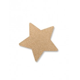 "Gold ""Glitter Star"" Wall Hook That's Mine"