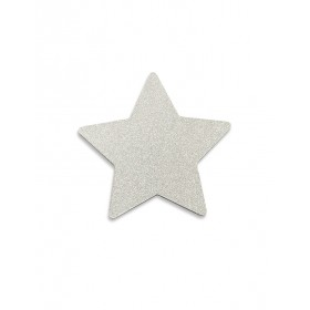 "Silver ""Glitter Star"" Wall Hook That's Mine"