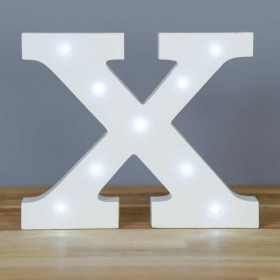 Letter X LED Up In Lights