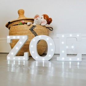 Letter Z LED Up In Lights