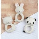 Teething Ring Panda A Little Lovely Company