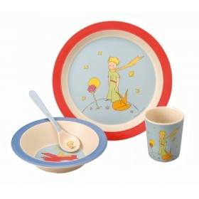 Little Prince Bamboo Fiber Dinner Set Petit Jour