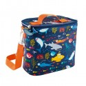 Insulated Lunch Bag Deep Sea Floss & Rock