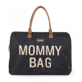 "Nursery Bag ""Mommy Bag"" Black Gold"
