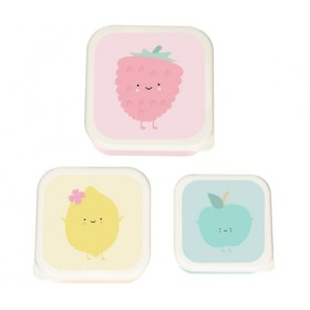 """""""Strawberry"""" Snack Boxes Eef Lillemor"""
