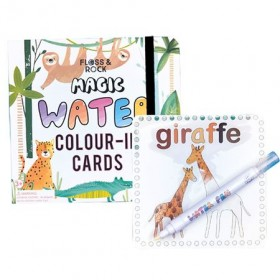 Jungle Magic Colour Changing Cards Floss & Rock
