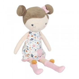 Boneca Peluche Rosa 35cm Little Dutch