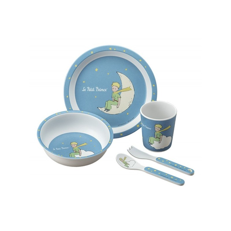 Dinner Set Blue Little Prince Petit Jour