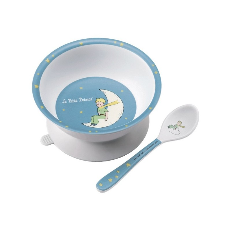 Suction Bowl Little Prince Blue Petit Jour