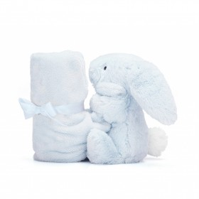 Bashful Blue Bunny Soother JellyCat