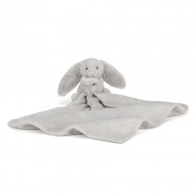 Bashful Silver Bunny Soother JellyCat