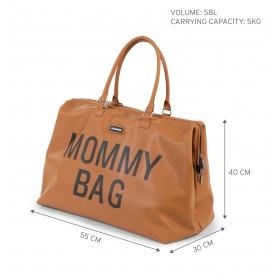 "Nursery Bag ""Mommy Bag"" Camel"