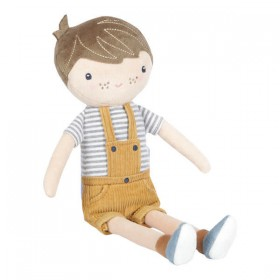 Boneco Peluche Jim 35cm Little Dutch