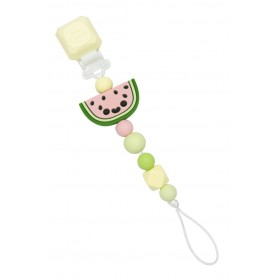 Pacifier Clip Silicone Watermelon Loulou Lollipop