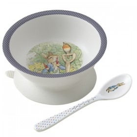 Suction Bowl Peter Rabbit Petit Jour