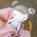 Boneca Peluche Rosa 50cm Little Dutch