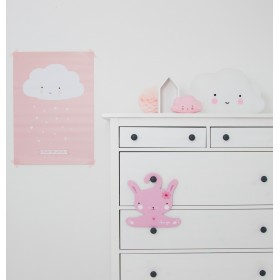 Poster Cloud Pink A Little Lovely Company