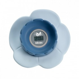 Lotus Bath Thermometer Blue Béaba