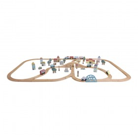 Railway Train XXL Set Little Dutch