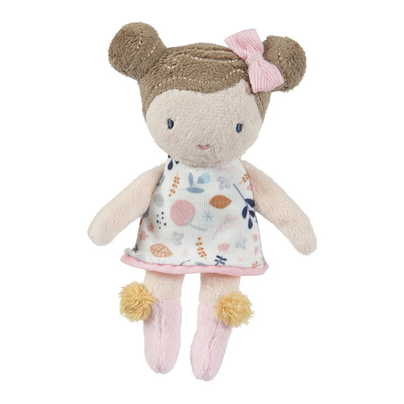 Boneca Peluche Rosa 10cm Little Dutch