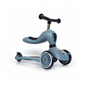 "Trotinete 2 em 1 ""Steel"" Scoot & Ride"