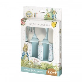 Cutlery Set White Peter Rabbit Petit Jour