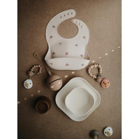 Pacifier Holder Shifting Sand Mushie