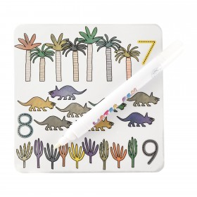Dinosaur Magic Colour Changing Cards Floss & Rock