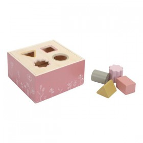 Shape Sorter Wild Flowers Little Dutch