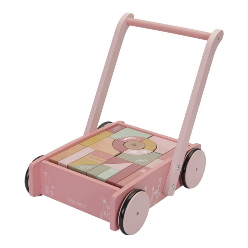"Block Trolley ""Wild Flowers"" Little Dutch"