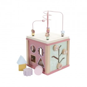 "Activity Cube ""Wild Flowers"" Little Dutch"