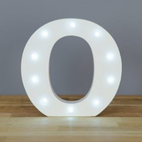Letter O LED Up In Lights