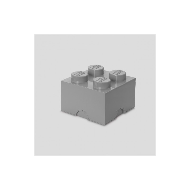 LEGO Storage Brick (4) Grey