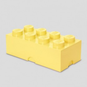 LEGO Storage Brick (8) Yellow