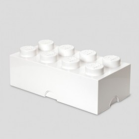 LEGO Storage Brick (8) White