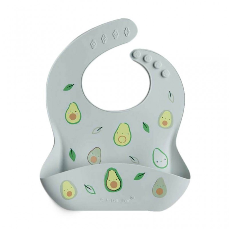 Silicone Bib Avocado Loulou Lollipop