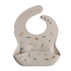 Silicone Bib Safari Loulou Lollipop