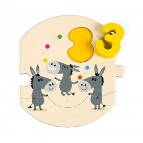 """Puzzle """"I Learn to Count"""" Janod"""