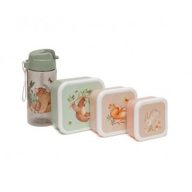 Forest Friends Snack Boxes Petit Monkey