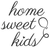 Home Sweet Kids logótipo